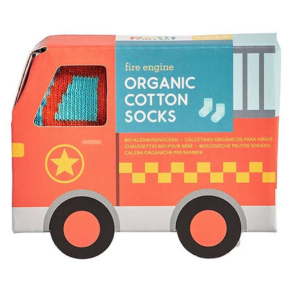 Chaussette pour bébé - Camion rouge