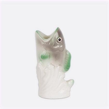 Bougeoir Poisson vert