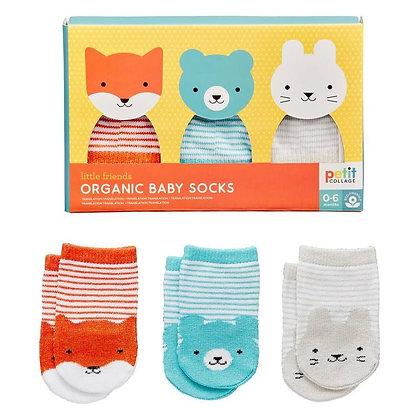 Chaussette pour bébé - Animaux