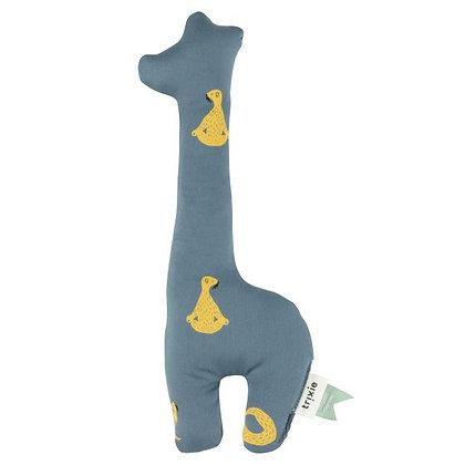 TRIXIE - Hochet girafe bleu