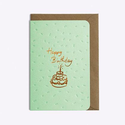 ÉDITIONS DU PAON - Carte postale Birthday