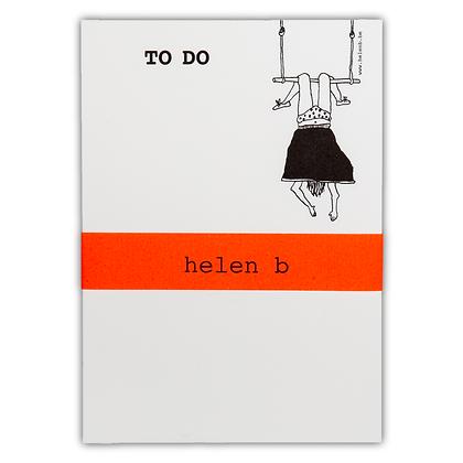 Helen B - Bloc note femme trapèze