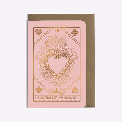 ÉDITIONS DU PAON - Carte postale L'amour