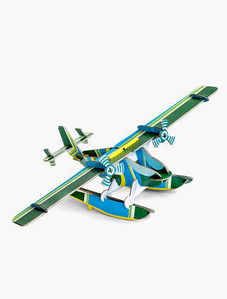 Avion 3D à construire - Seaplane