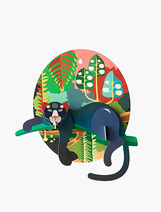 Animal 3D à construire - Jungle Puma