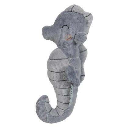 Hochet hippocampe bleu