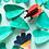 Thumbnail: Insecte 3D à construire - Coléoptère rouge