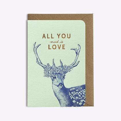 ÉDITIONS DU PAON - Carte postale Love