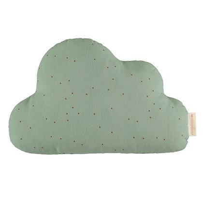 NOBODINOZ - Coussin nuage Vert