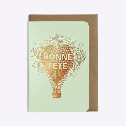 ÉDITIONS DU PAON - Carte postale Bonne fête