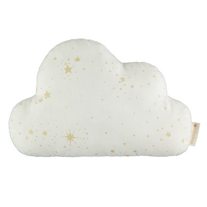 NOBODINOZ - Coussin nuage blanc étoiles