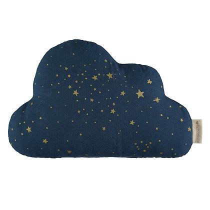 NOBODINOZ - Coussin nuage étoile bleu