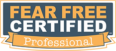 """Picture of """"Fear Free"""" certification"""