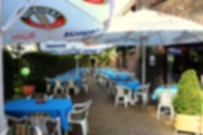 Biergarten Minigolf Spielplatz Saal Restaurant