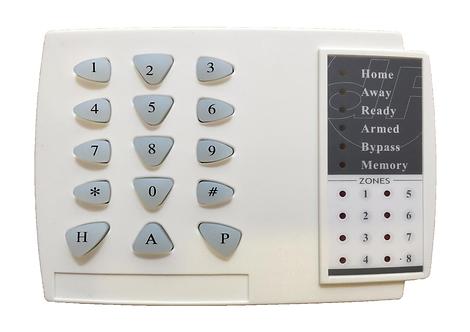 Keypad 8 Zone