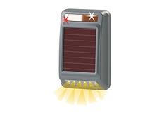 Driveway-Alarm-Solar-Outdoorstrobe-Siren