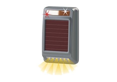 Solar Wireless Siren