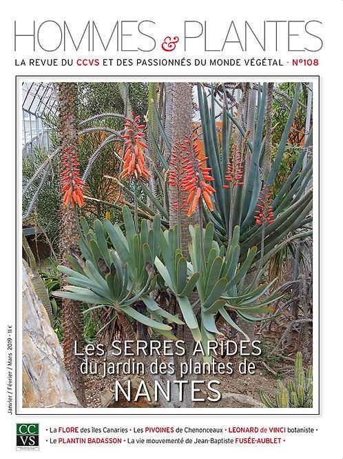 Hommes et Plantes N°108