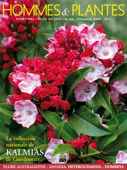 Hommes et Plantes N°65