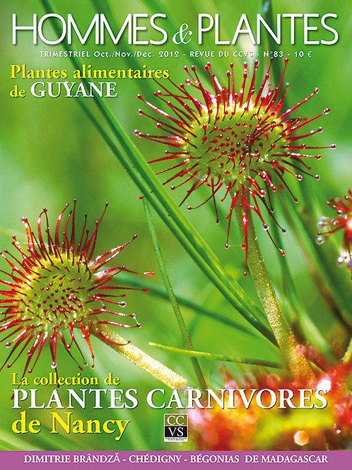 Hommes et Plantes N°83