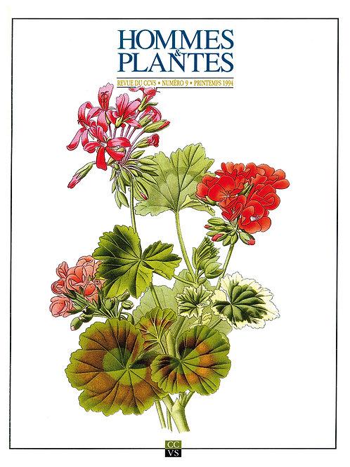 Hommes & Plantes n°9
