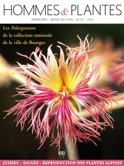 Hommes et Plantes N°57
