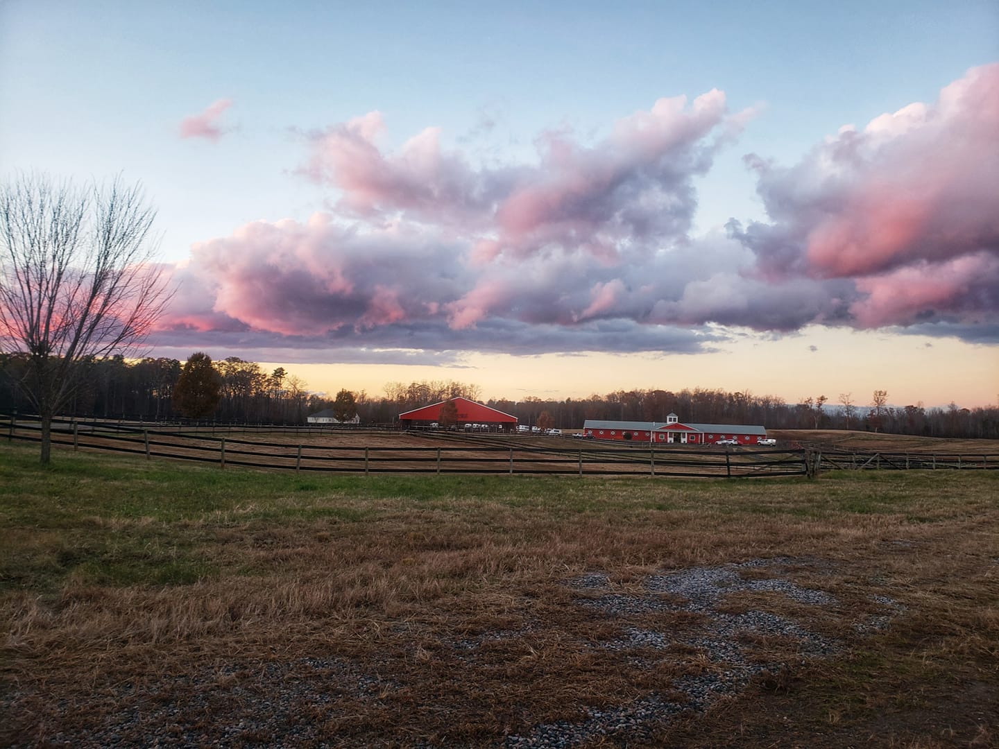 The prettiest sunsets are at RRRC