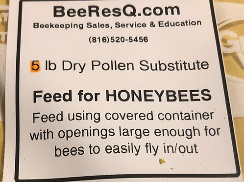 Dry Pollen Substitute (5 Pound)
