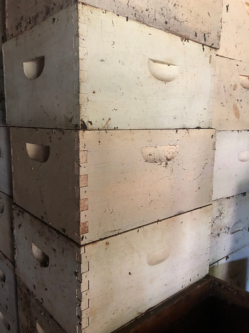 USED - 10 Frame Langsroth Hive KIT - No Frames/Foundation