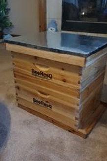 Pre Order - Assembled 10 Frame BeeResQ Hive Kit - Deep Configuration