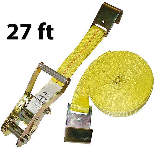 "2"" X 27' RATCHET STRAP"