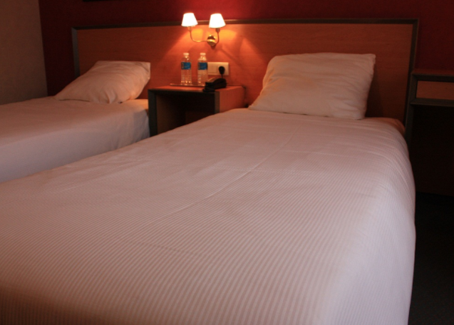 Eenpersoonskamer Hotel Catherdrale