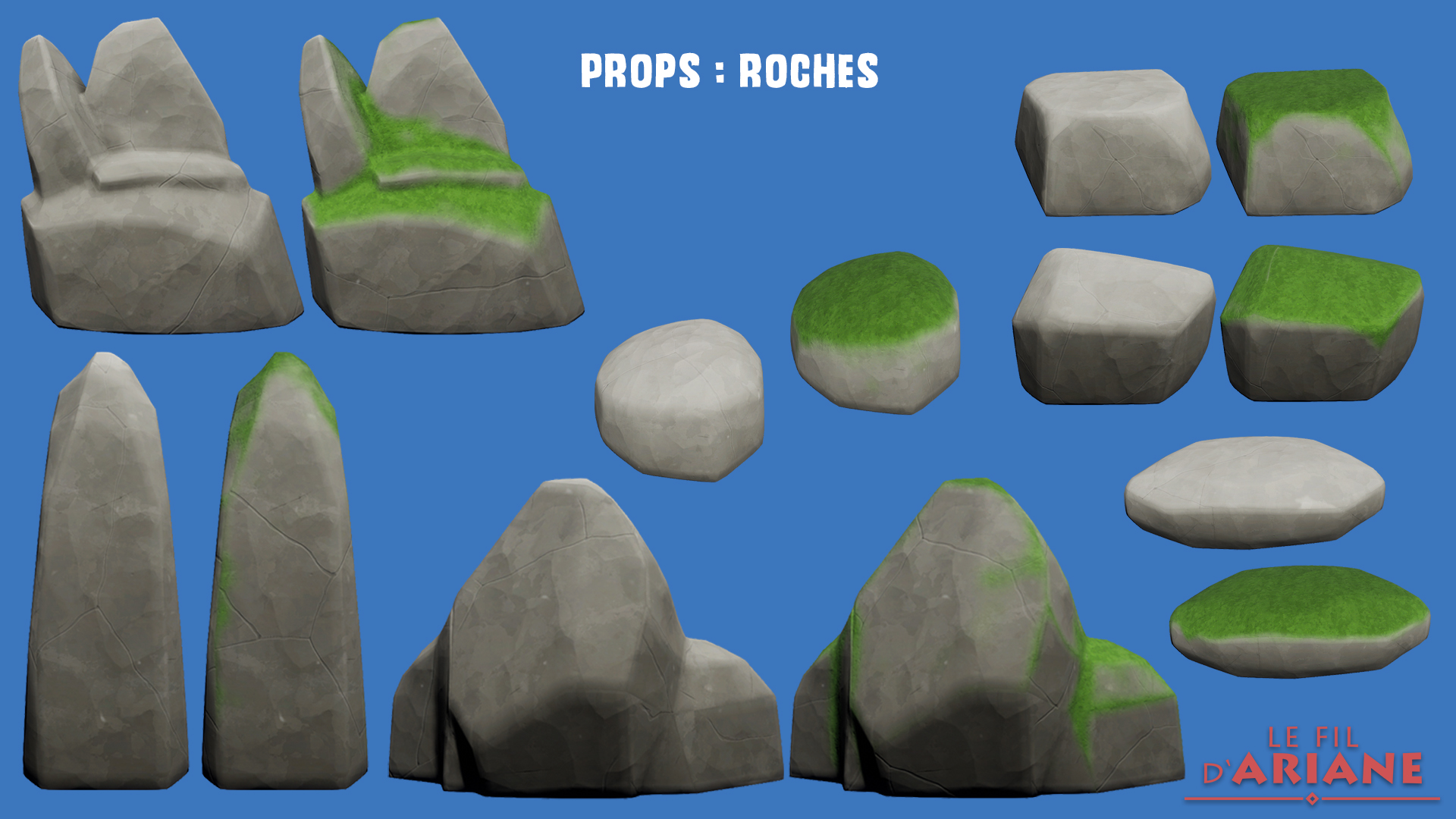 Props : Roches