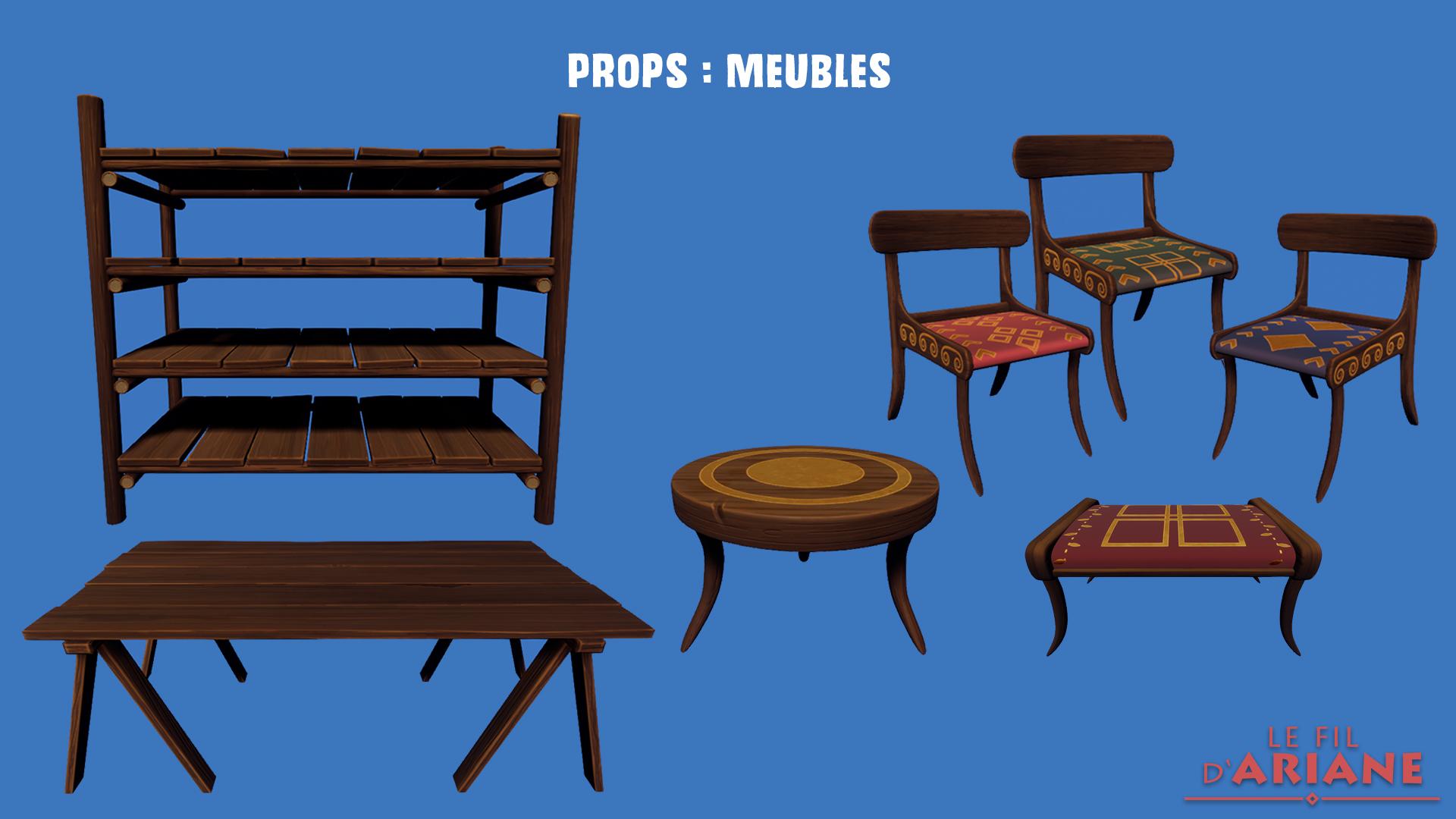 Props : Meubles