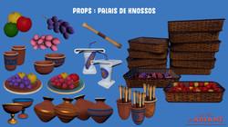 Props : Palais de Knossos