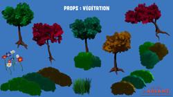 Props : Végétation