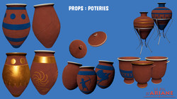 Props : Poteries