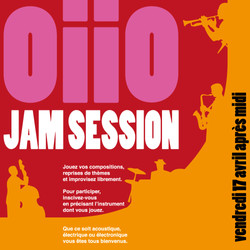 Edwing Wolff Affiche Oiio Jam Session