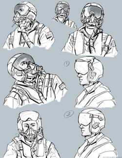 Dice Helmet Studies