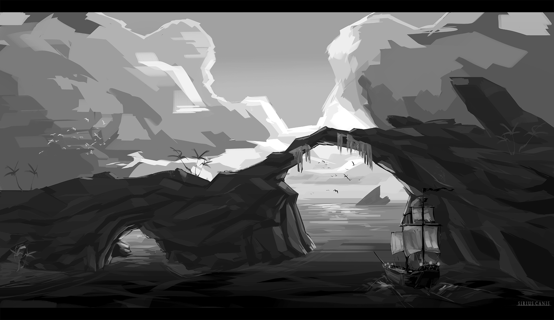 Sea of Thieves Landscape Study