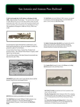 San Antonio and Aransas Pass Railroad 18