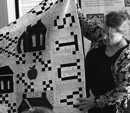 How did quilting affect Texas women?