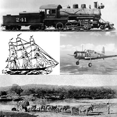 How Did Folks Travel to Aransas County?