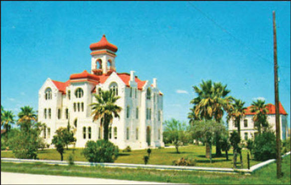 What was old courthouse like?