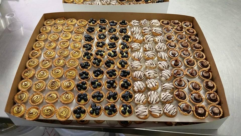 Lemon/Blueberry/Chocolate Tarts