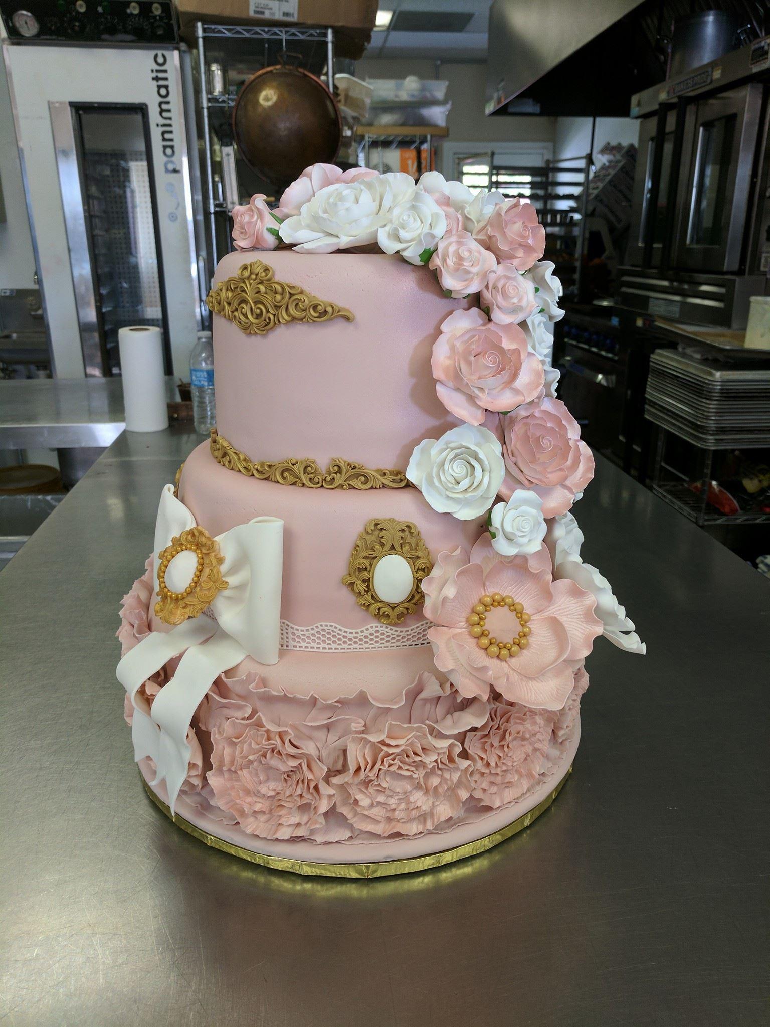 Quincerera Cake