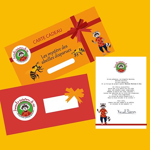 Carte cadeau - Le mystère des abeilles disparues