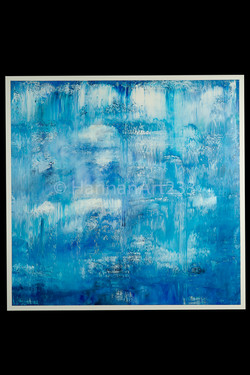 Cloud Dancer 72_ X 72_ Acrylic on Canvas