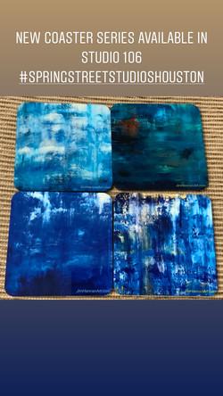 Coasters - blues