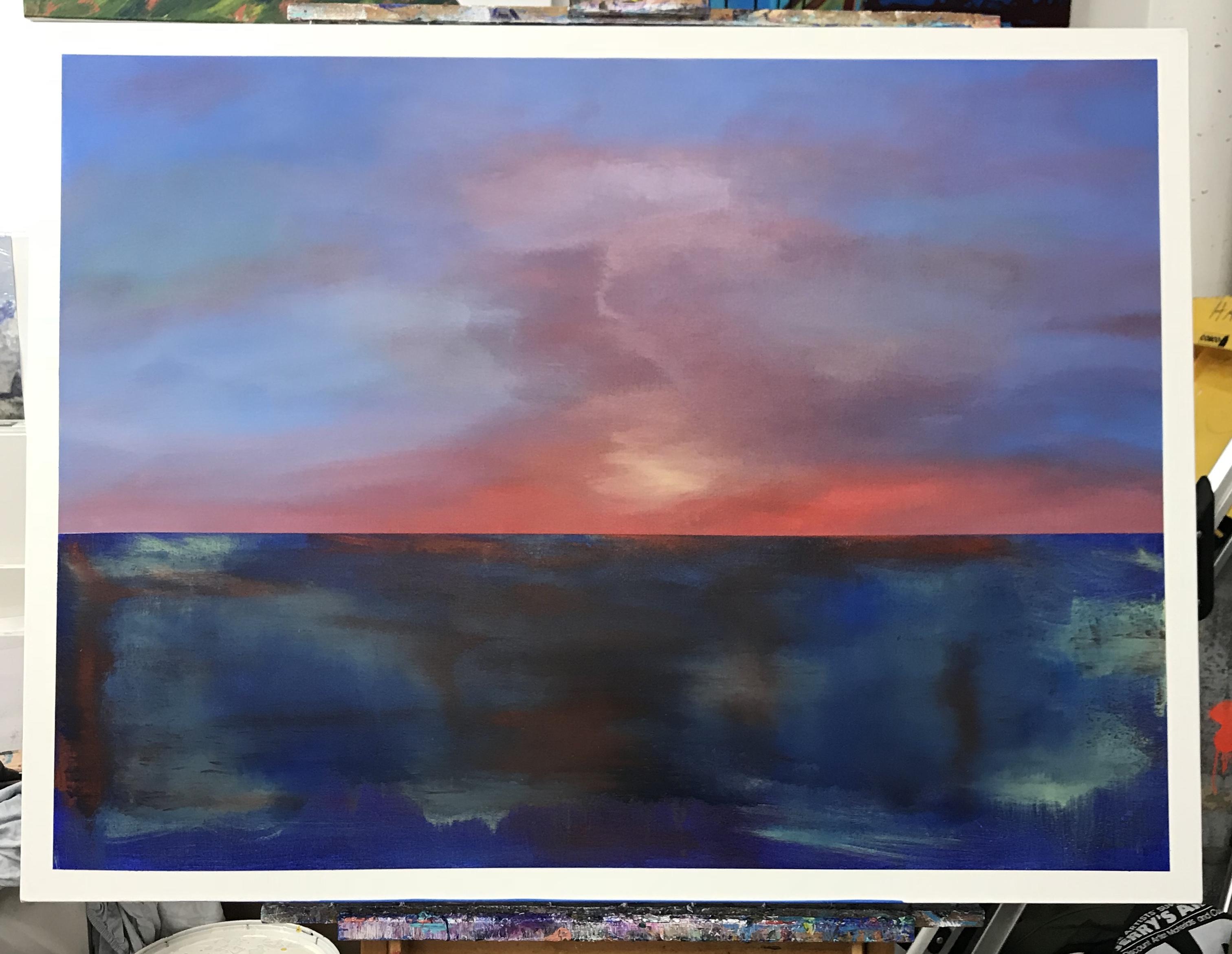 Sunset on Lake Houston